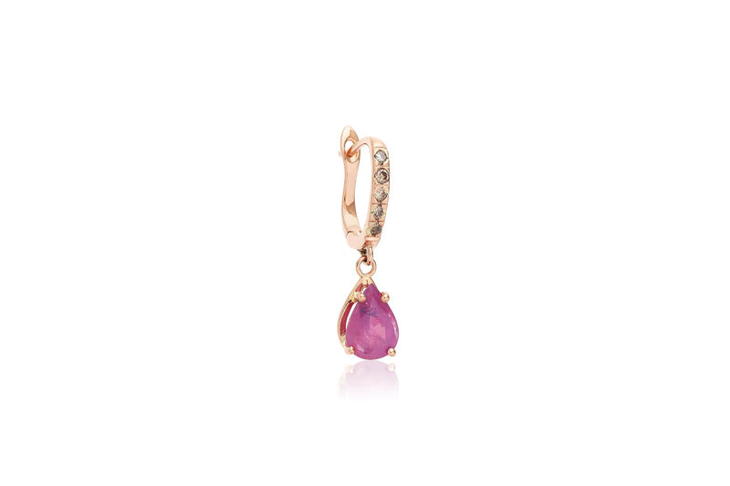 Pink Sapphire Candy Mix n' Match Earrings