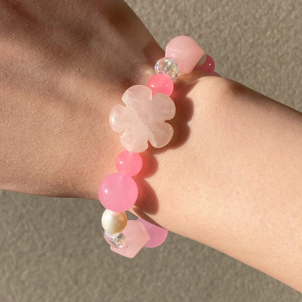Flower Jelly Bracelet