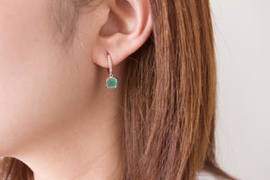 Emerald Candy Mix n' Match Stackable Hoop Earrings