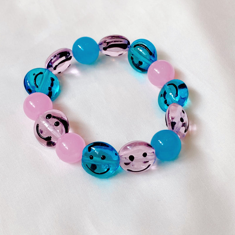 Smarty Smiley (Blue & Pink Blue)