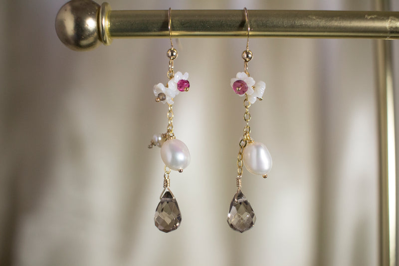Sakura Pearl Earrings