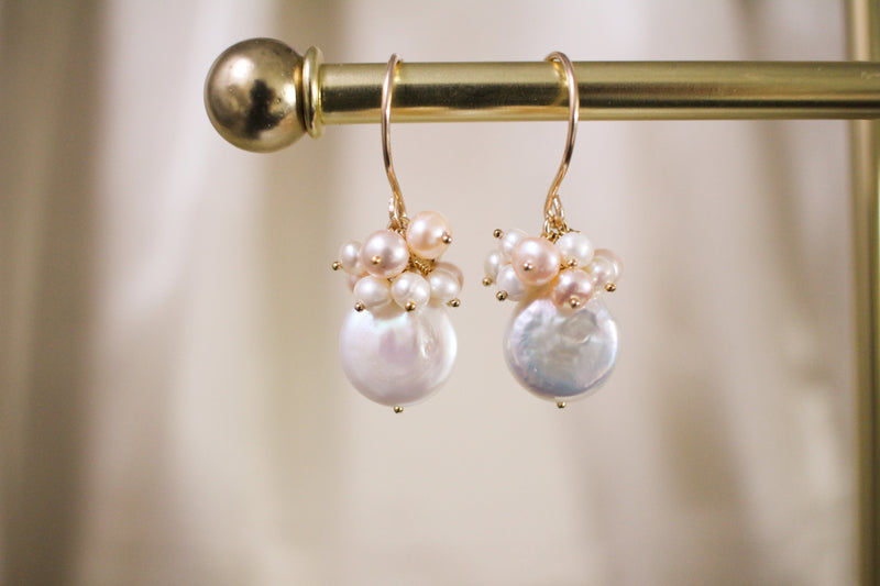 Blossom Pearl Earrings