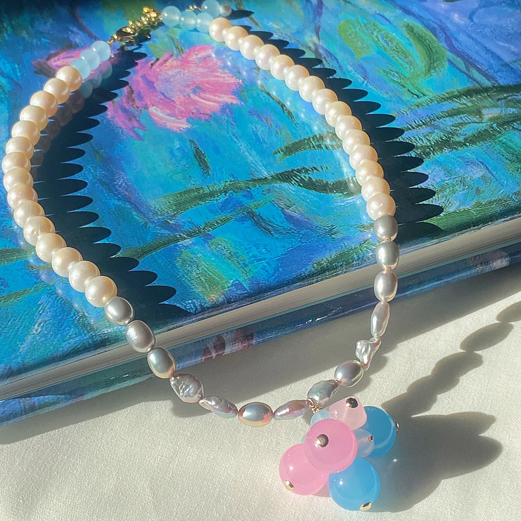 Bubbly Pearl Necklace