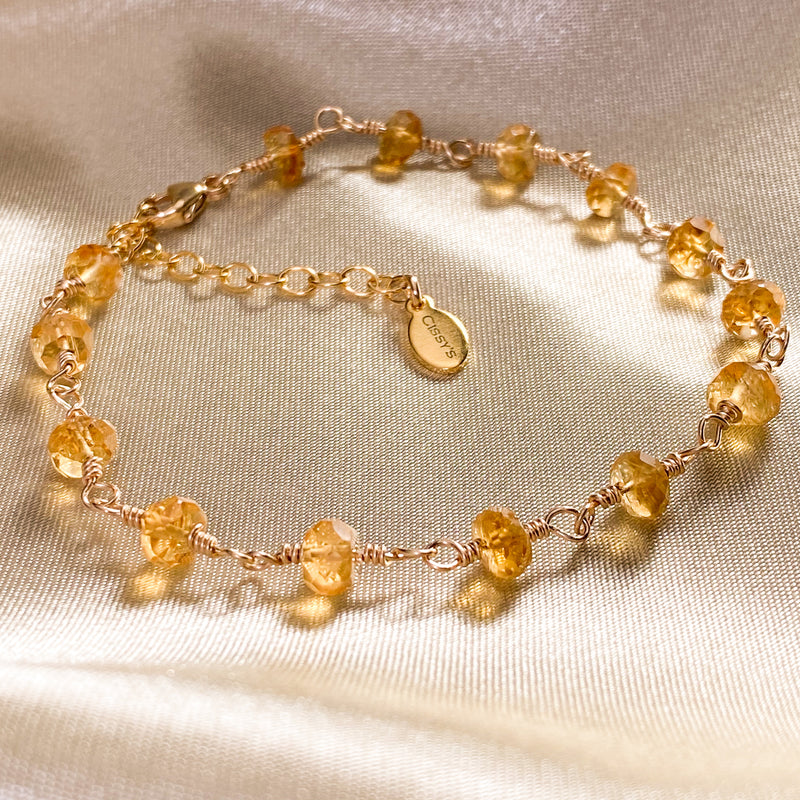 Citrine Stacking Bracelet
