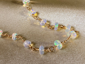 Halo Opal Stacking Bracelet