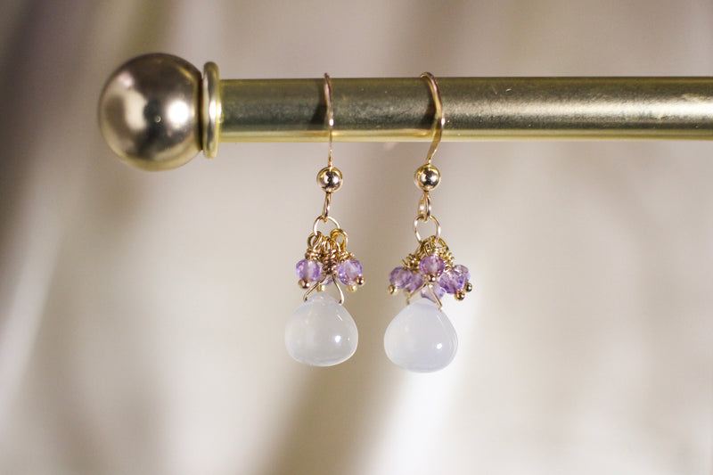 Moonstone Raindrop Earrings