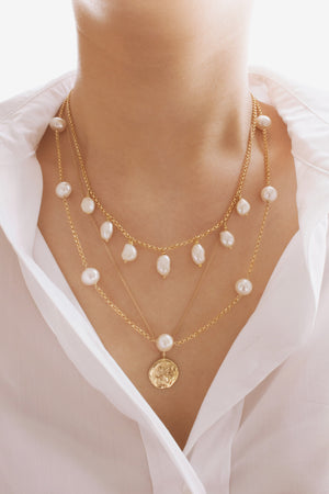 Emma Freshwater Pearl Necklace