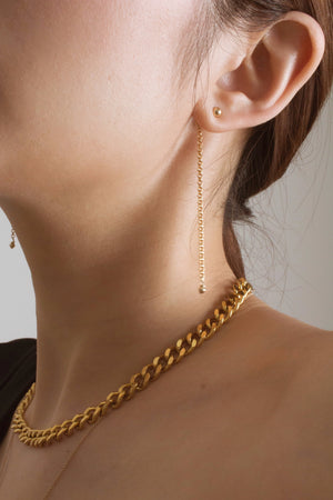 Minimalist Chain Drop Earrings