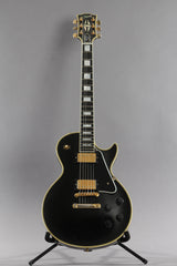 2002 Gibson Custom Shop Les Paul Custom 1957 Reissue 57RI Ebony Black Beauty