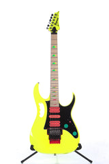 2017 Ibanez Jem 777 30th Anniversary Desert Sun Yellow Electric Guitar -SUPER CLEAN-