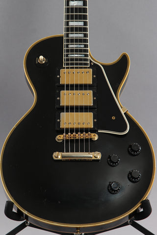 2007 Gibson Custom Shop Les Paul Custom 1957 Reissue 57 3 Pick-up Black Beauty
