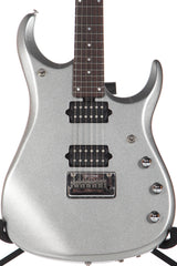 2014 Ernie Ball Music Man John Petrucci JP13 BFR Ball Family Reserve Platinum Silver -SUPER CLEAN-