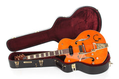 2011 Left Handed Gretsch G6120EC Eddie Cochran Signature Hollowbody Lefty -SUPER CLEAN-