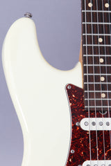 2001 Suhr Classic SSS Stratocaster Olympic White #1554 -Made For Scott Henderson-