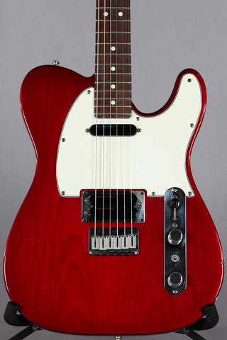 1995 Fender Telecaster Plus Version 1 Tele Crimson Burst