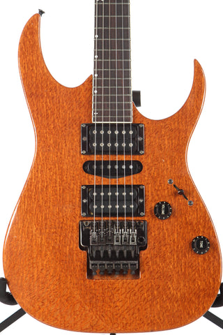 1990 Ibanez USA Custom UCEW1LC Exotic Woods Lacewood Electric Guitar -RARE-