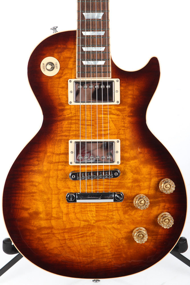 2015 Gibson Les Paul Standard Tobacco Burst Flame Top
