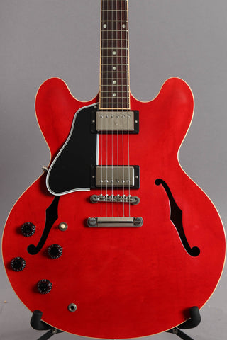 2014 Left Handed Gibson Memphis Custom Shop Es-335 Cherry