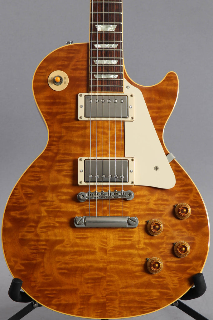 1996 Gibson Les Paul Historic '58 Reissue Quilt Top ~Good Wood Era~