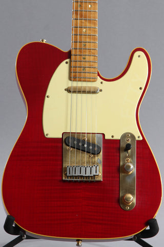 1988 Fender Custom Shop 40th Anniversary Telecaster Translucent Red #119 of 300
