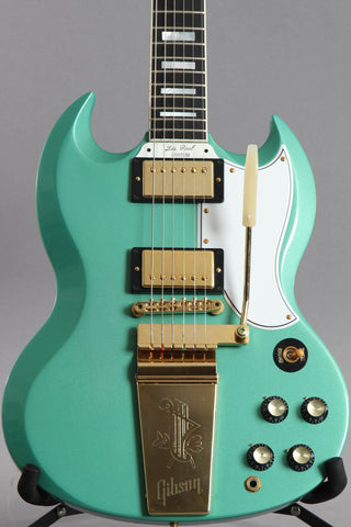 2010 Gibson Custom Shop Historic SG Custom Maestro Inverness Green