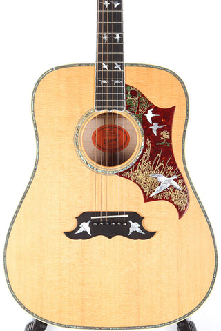 2010 Gibson Custom Shop Doves In Flight Acoustic Guitar
