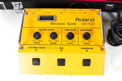 1983 Roland G-808 with Roland GR-100 Vintage Analog Guitar Synthesizer