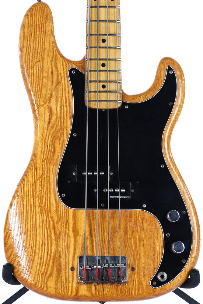 1975 fender precision p bass natural refin guitar chimp. Black Bedroom Furniture Sets. Home Design Ideas
