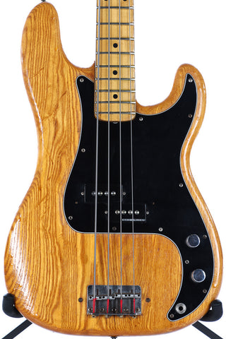 1975 Fender Precision P Bass Natural Refin
