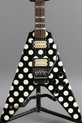 1998 Jackson USA Custom Shop Limited Edition Randy Rhoads Tribute Polka Dot Flying V #53 of 150