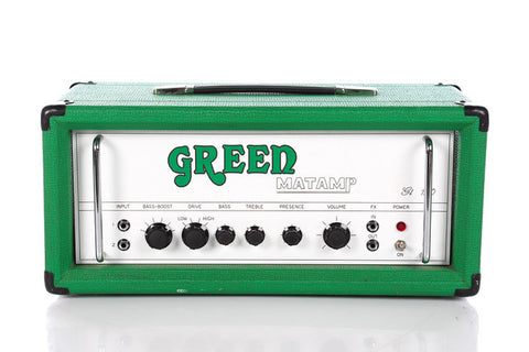 Matamp Green GT-120 Tube Guitar Head