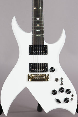 2012 BC Rich USA Custom Shop Bich Standard White Electric Guitar -RARE-