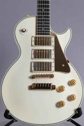 1986 Gibson Custom Shop Edition Les Paul Aldo Nova Polaris White ~Explorer Head-stock~
