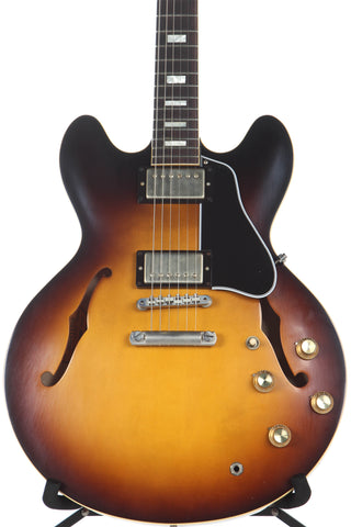 2017 Gibson Memphis Custom 1963 ES-335TD Block '63 VOS Historic Burst -SUPER CLEAN-