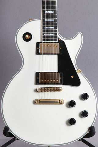 2017 Gibson Custom Shop Les Paul Custom Alpine White