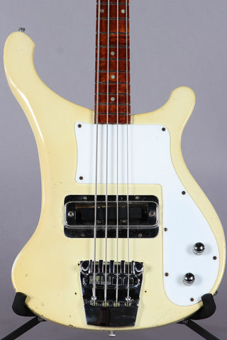 1975 Rickenbacker 4000 White Bass Guitar