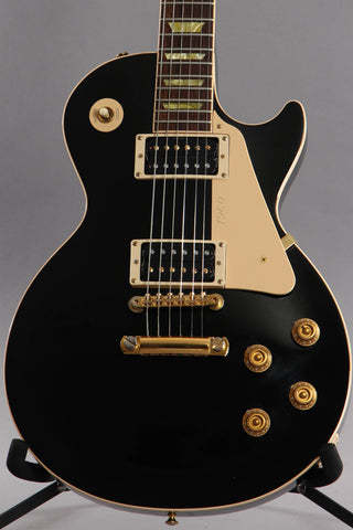 2003 Gibson Les Paul Classic Black With Gold Hardware