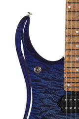 2015 Ernie Ball Music Man John Petrucci Limited Edition JP15 Blueberry Burst Quilt Signed #19/300