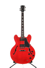 2017 Gibson Memphis ES-335 Gloss Cherry Semi Hollow Electric Guitar -SUPER CLEAN-