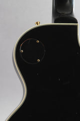 2004 Left Handed Gibson Custom Shop Les Paul Custom Ebony Black