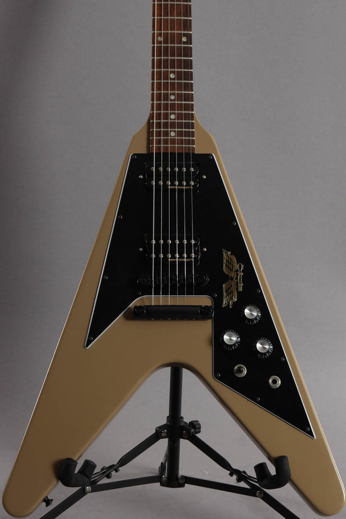 2013 Gibson Flying V Government Series II Tan