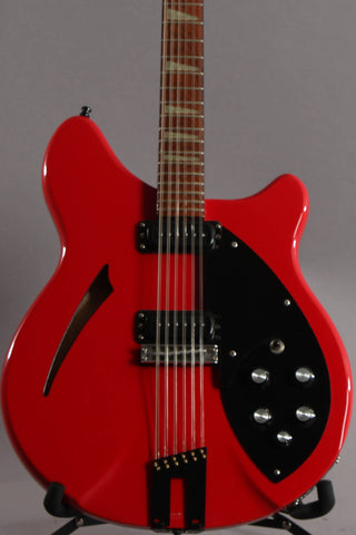 1988 Rickenbacker 360/12 12-String Red w/Black Trim