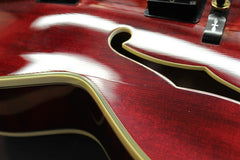 1977 Gibson L5-CES Archtop Guitar Wine Red