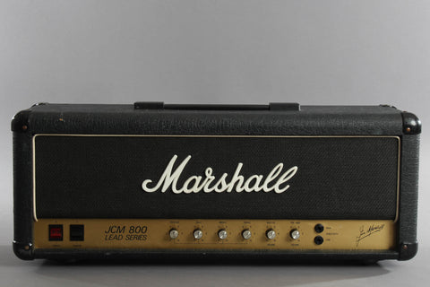 1983 Marshall JCM 800 2204 50 Watt Tube Head ~Verticle Inputs~