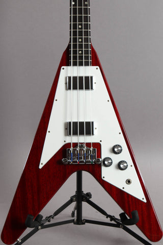 2011 Gibson Flying V Bass Gloss Cherry