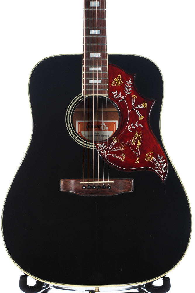 1978 Gibson Hummingbird Custom Ebony Black