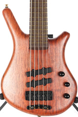 2001 Warwick Thumb Neck Thru NT-5 String Bass
