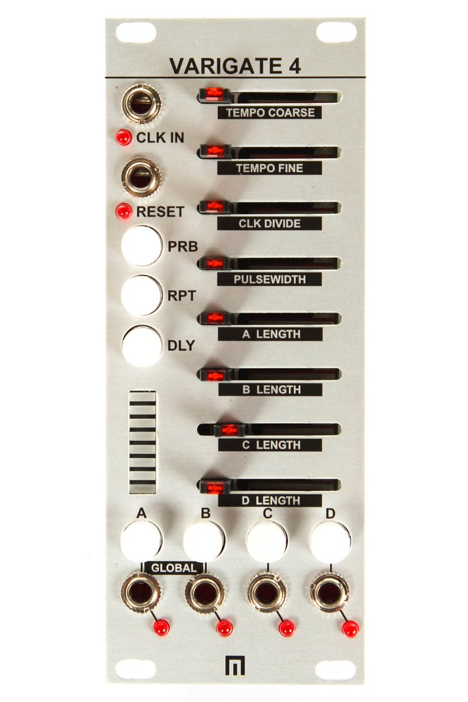 Malekko Heavy Industry Varigate 4 4-Channel 8-Step Gate Sequencer