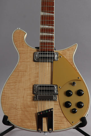 2010 Rickenbacker 660 6 String Electric Guitar Mapleglo