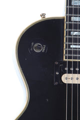 1976 Gibson Les Paul Custom Ebony Black Beauty